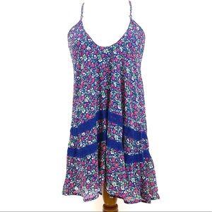 Abercrombie Fitch Crisscross floral Babydoll dress